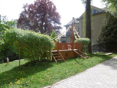 Přírodní zahrada při MŠ Brno