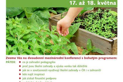Konference zahradní pedagogiky