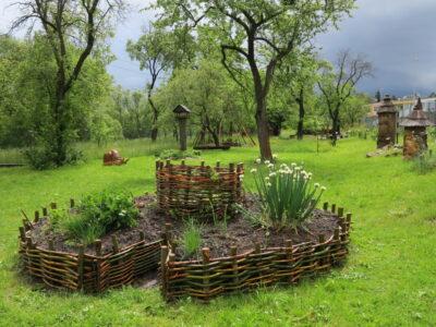 Zahrada poznání ekocentra ČSOP